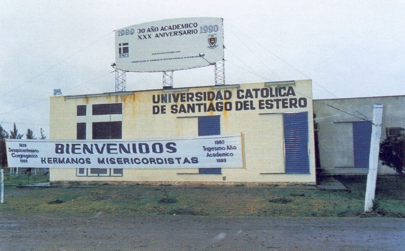 The thirtieth anniversary of the Catholic University in Santiago del Estero (Argentina), founded by the friars